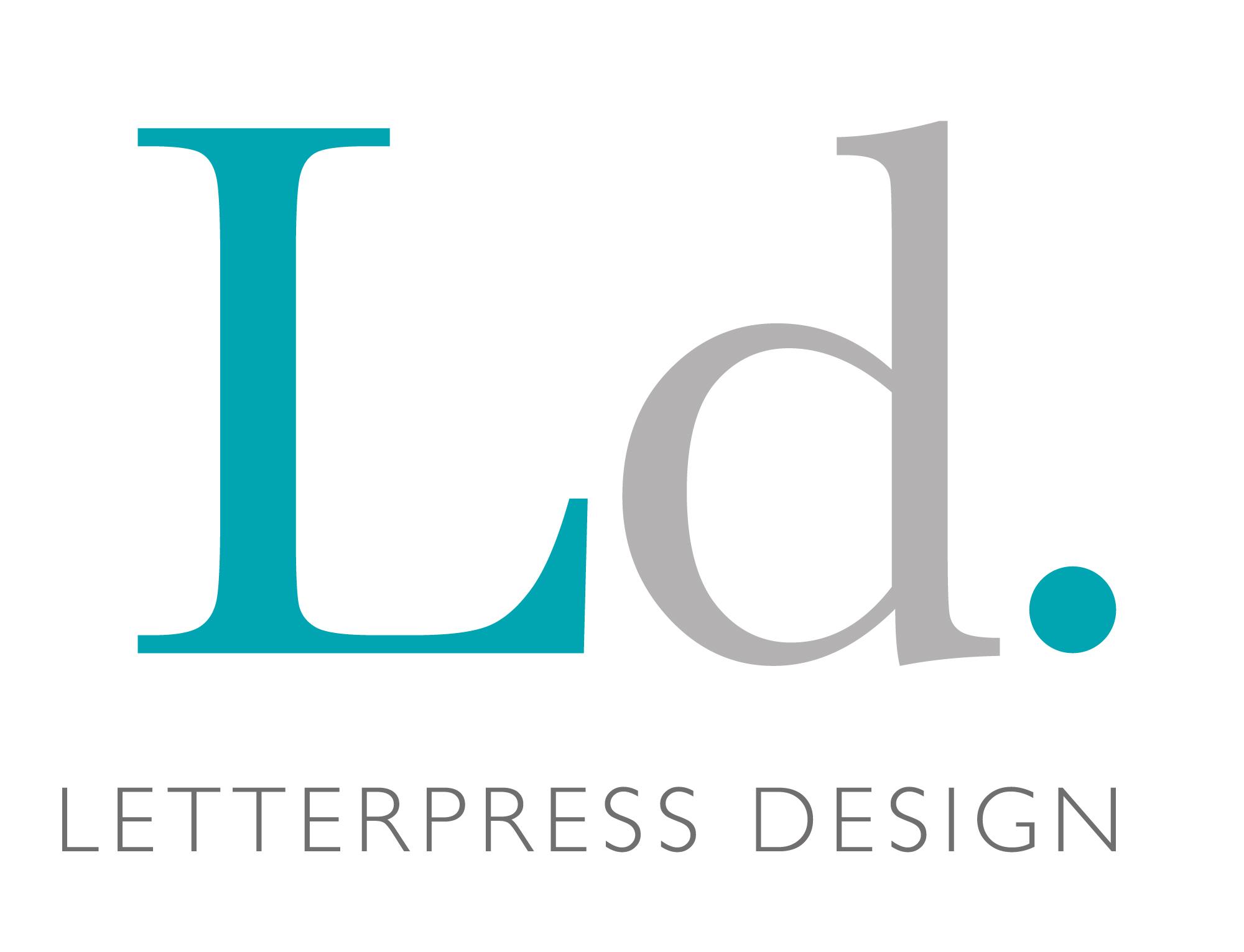 Letterpress Design - A modern Letterpress Studio printing modern and vintage letterpress