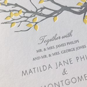2 colour registration letterpress printing
