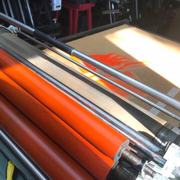 Letterpress Printing Press Farley